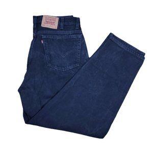 Vintage usa levis 560 men's black jeans  40X30